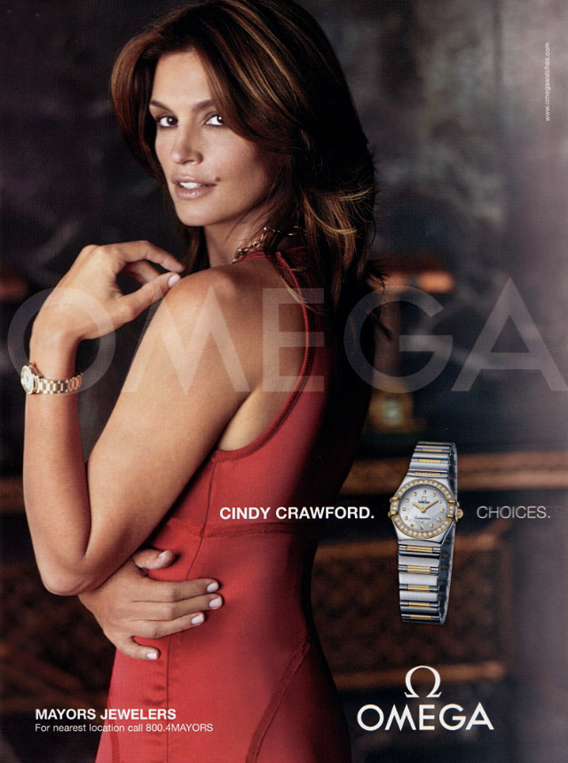 Cindy Crawford omgea