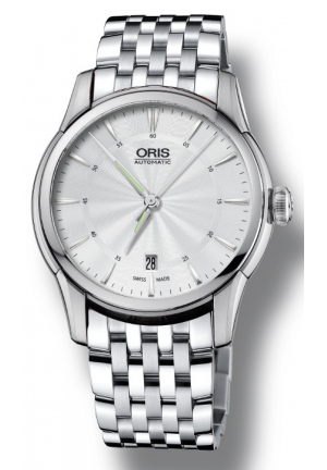 Oris Artelier Date Automatic Silver Dial Men's Watch 01 733 7670 4051-07 8 21 77