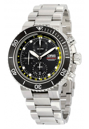 ORIS AQUIS DEPTH GAUGE CHRONOGRAPH, 48MM