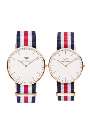 DANIEL WELLINGTON CANTERBURY QUARTZ MULTI-COLOR WATCH