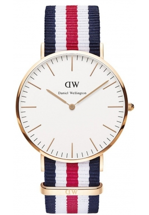 Daniel Wellington Men's Canterbury Quartz Multi-Color Watch 40mm