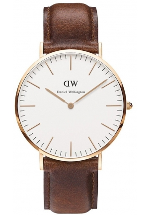 Daniel Wellington Men's St. Mawes Brown Watch 40mm DW00100006
