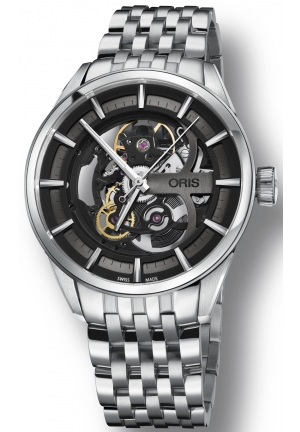 Artix Automatic Black Skeleton Dial Men's Watch