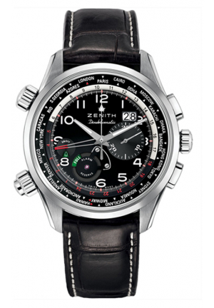 PILOT AUTOMATIC CHRONOGRAPH BLACK DIAL 45MM