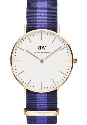 DANIEL WELLINGTON Swansea White Dial Ladies Quartz Watch 36mm