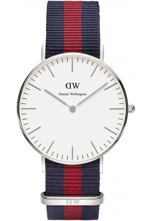 DANIEL WELLINGTON LADIES' OXFORD SILVER 36MM WATCH DW00100046