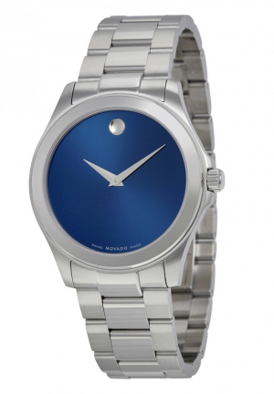 JUNIOR SPORT BLUE DIAL STAINLESS STEEL MEN'S WATCH