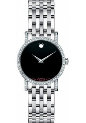Movado  Watch Red Label Ladies - Black Dial