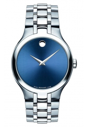 MOVADO COLLECTION BLUE, 38MM