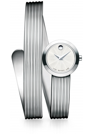 MOVADO Museum Wrap Stainless Steel, 20mm