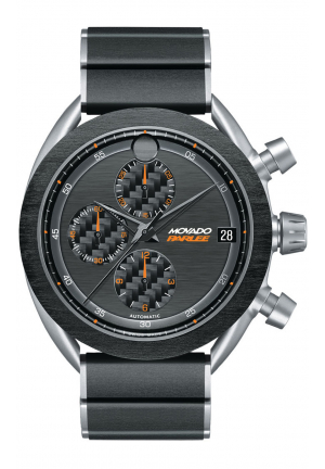 MOVADO PARLEE CHRONOGRAPH TITANIUM AUTOMATIC MEN'S WATCH