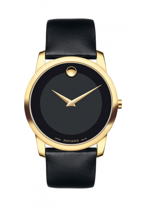MOVADO Museum Classic Men's Gold PVD Watch , 40mm