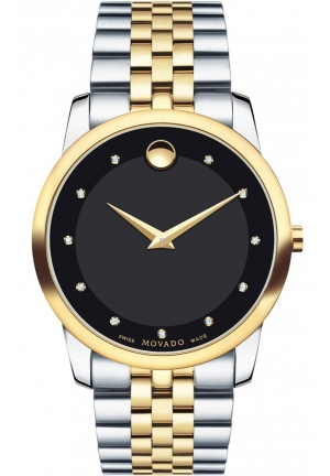 MOVADO Museum Men's Stainless Steel Two-toned, 40 mm