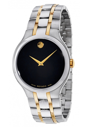 MOVADO COLLECTION TWO-TONE MEN'S WATCH 39MM