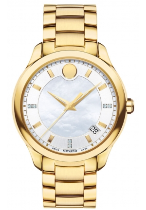 MOVADO Bellina Women's Yellow gold PVD-finished stainless steel 36mm