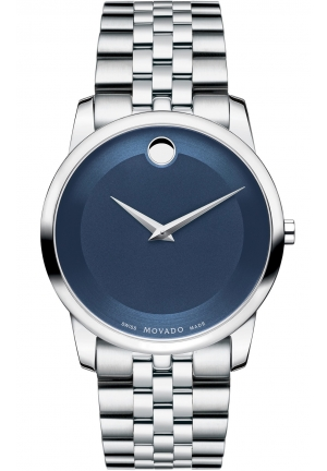 MOVADO Museum Men's Stainless Steel Bracelet Watch, 40mm