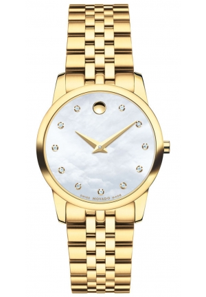 MOVADO WOMEN'S WATCH MUSEUM CLASSIC 28 MM