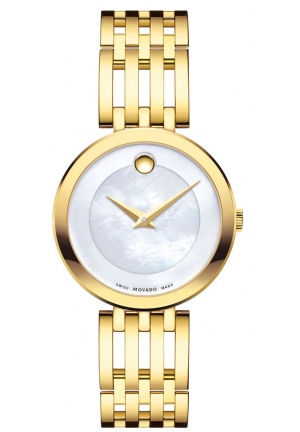 ESPERANZA YELLOW GOLD PVD-FINISHED STAINLESS STEEL LADIES WATCH , 28MM