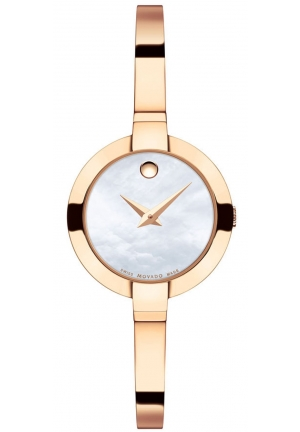 BELA ROSE GOLD PVD-FINISHED STAINLESS STEEL, 25MM
