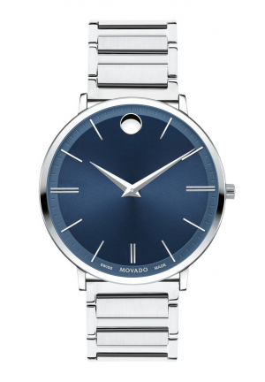 MOVADO ULTRA SLIM MENS WATCH 40MM