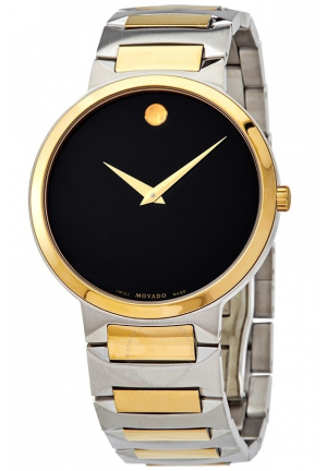 MOVADO Temo Quartz Black Dial Men's Watch