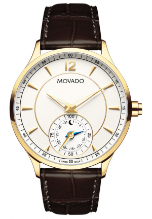 CIRCA MOTION YELLOW GOLD/STAINLESS MEN'S WATCH