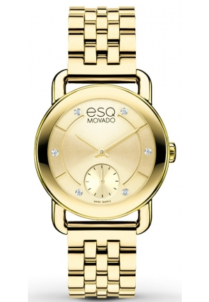 ESQ Movado Women's  Swiss Quartz 30mm