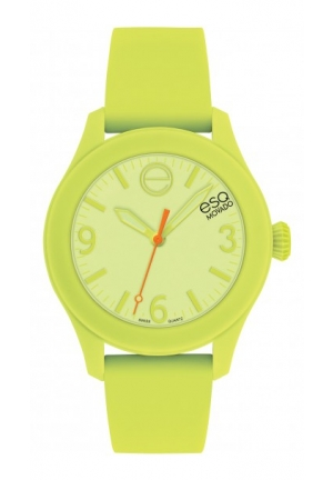 ESQ One Charturuse Silicone Wrapped Swiss Quartz Unisex 36mm