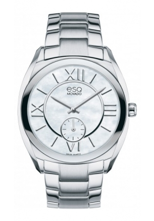 ESQ Origin Analog Display Swiss Quartz Silver Watch 36mm