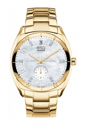 ESQ Origin Analog Display Swiss Quartz Gold Watch 36mm
