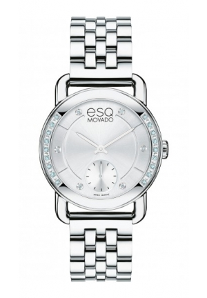 ESQ Classica Classica Analog Display Swiss Quartz Silver Watch 30mm