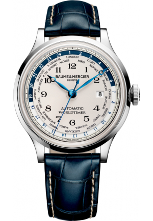 BAUME AND MERCIER CAPELAND BLUE WATCH 44MM