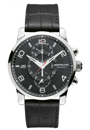 MONTBLANC TimeWalker TwinFly Chronograph 43mm