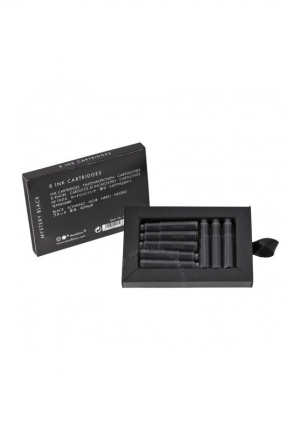 Montblanc Fountain Pen Black Ink Cartridges - 8 Pack  ,105191