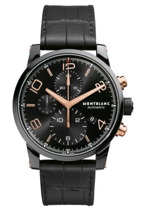 MONTBLANC TimeWalker Dual Carbon Chronograph Automatic 43mm