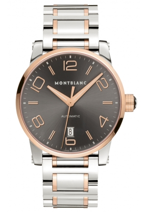 MONTBLANC TimeWalker Automatic Steel Gold 39mm
