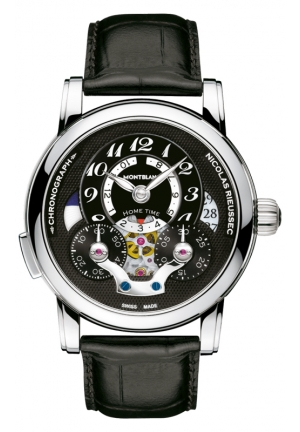 MONTBLANC Nicolas Rieussec Open Home Time 43mm