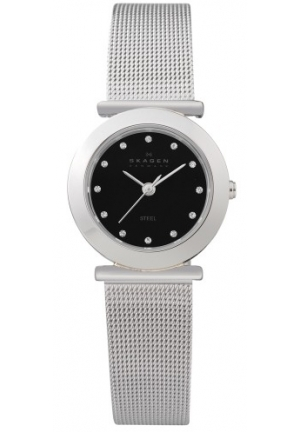 Skagen Women's 107SSSBD Stainless Steel Mesh Watch