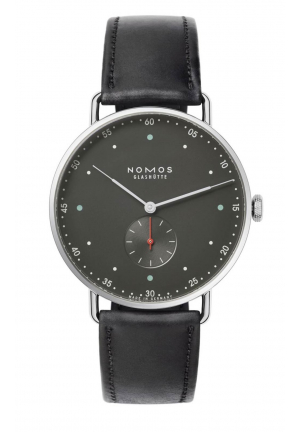 Nomos Glashuette Metro 38 urban gray 1111, 38.5mm