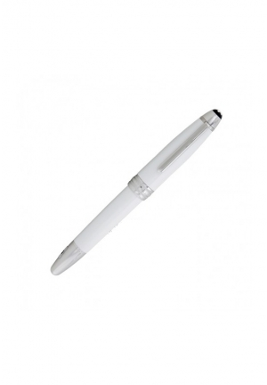 Montblanc Meisterstuck Solitaire White Lacquer Fountain Pen,111933