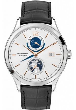 HERITAGE CHRONOMETRIE DUAL TIME MEN'S WATCH