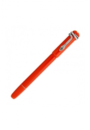 MONTBLANC Montblanc Heritage Collection Rouge Et Noir Rollerball Pen,114726