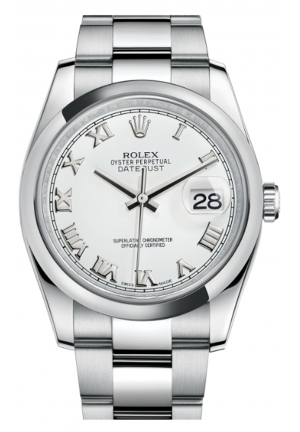 DATEJUST 36 OYSTER STEEL 116200-0055, 36MM