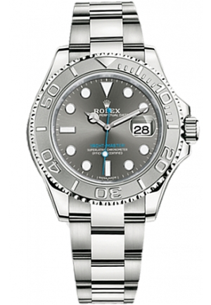 YACHT-MASTER OYSTER STEEL AND PLATINUM 116622-0003, 40 MM