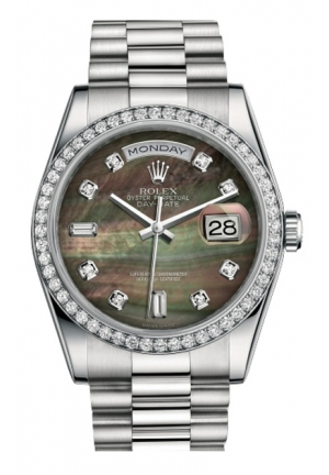 DAY-DATE 36 OYSTER 118346-0026, 36MM