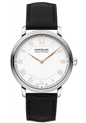 Montblanc Tradition Hand Wind White Dial Watch 119962