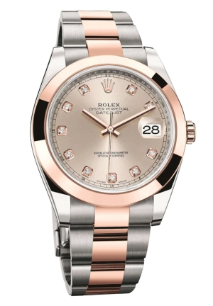 DATEJUST STEEL AND YELLOW GOLD 126301-0007, 41MM
