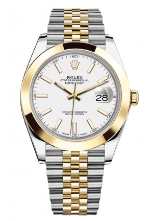 DATEJUST STEEL AND YELLOW GOLD MENS WATCH 126303-0016, 41MM