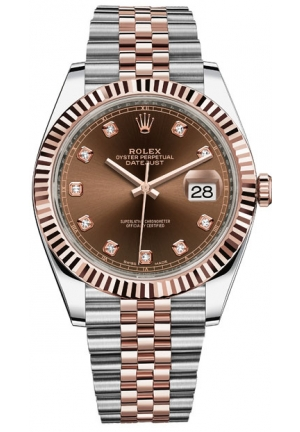 DATEJUST MEN'S WATCH 126331-0004, 41MM