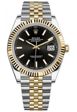 DATEJUST OYSTER STEEL AND YELLOW GOLD 126333-0010, 41 MM